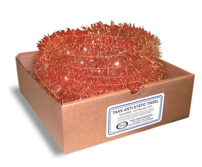 Anti Static Copper Tinsel